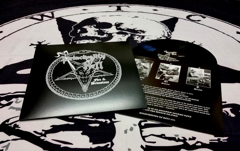 Principality of Hell - Fire & Brimstone -  LP