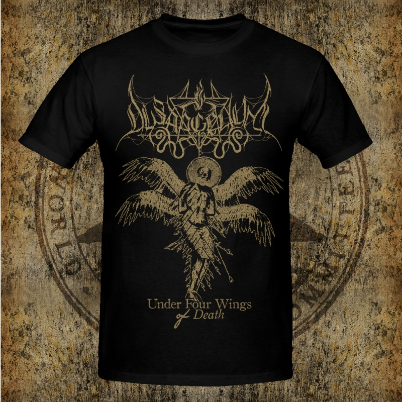 Dysangelium - Under Four Wings Of Death - T-Shirt