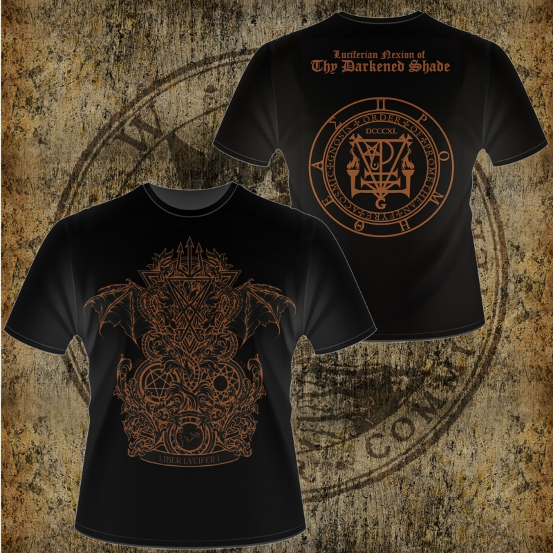 Thy Darkened Shade - Liber Lvcifer I - T-Shirt