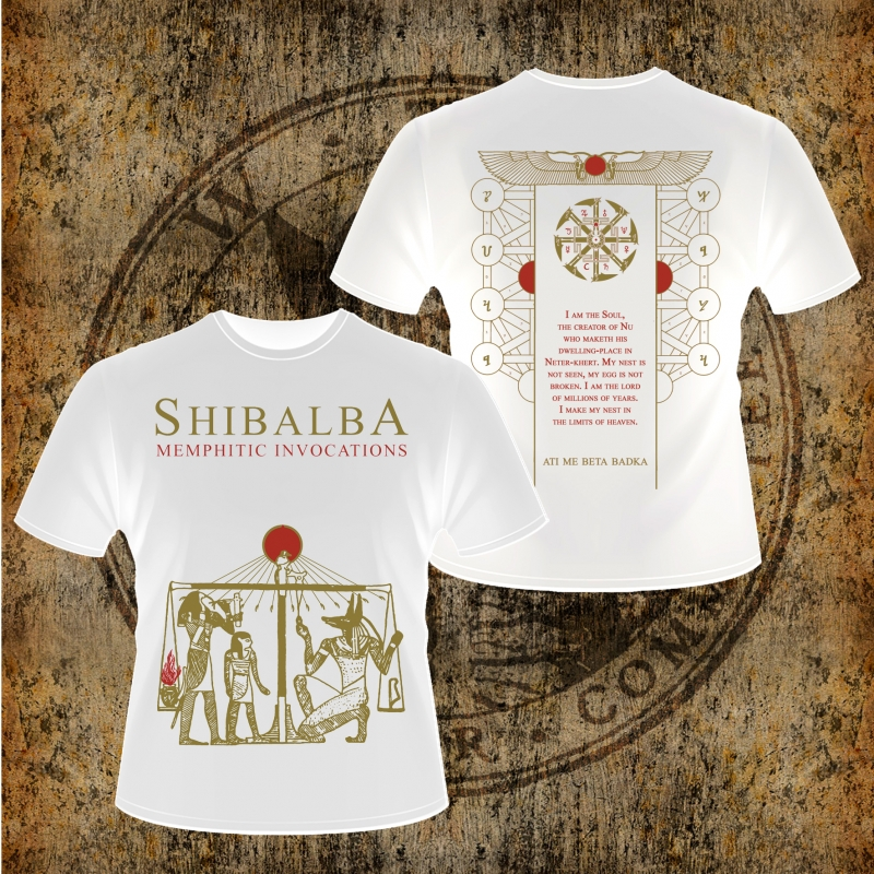 Shibalba - Memphitic Invocations - T-Shirt