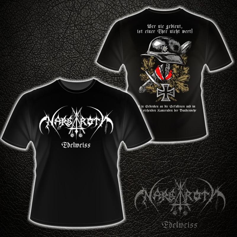 Nargaroth - Edelweiß - T-Shirt