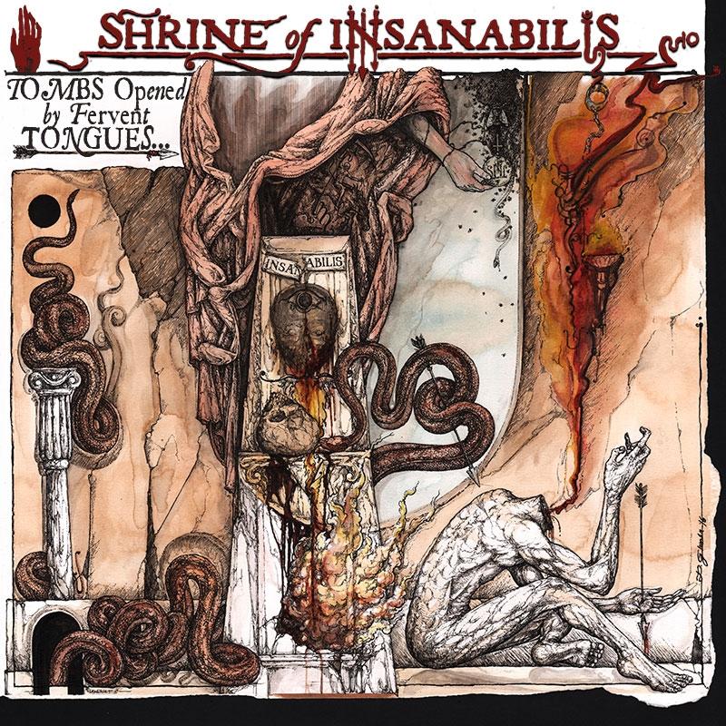 Shrine of Insanabilis - Tombs opened... - Digisleeve MCD