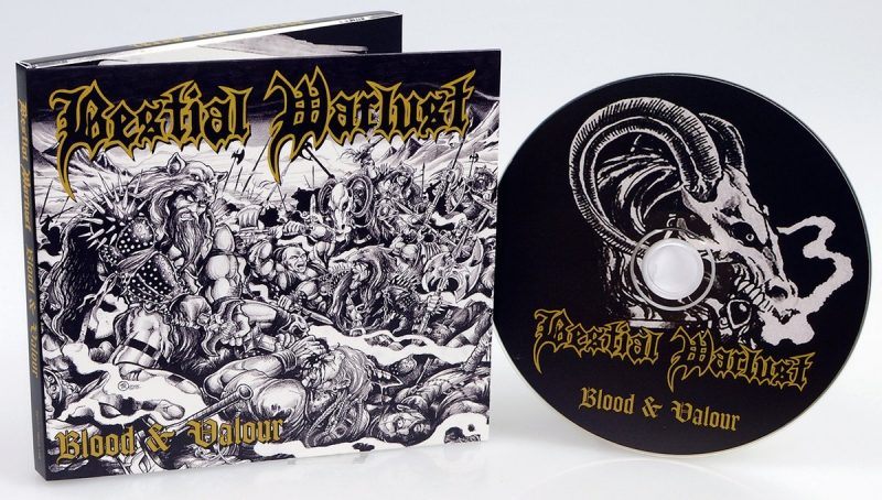 Bestial Warlust - Blood & Valour - DigiCD