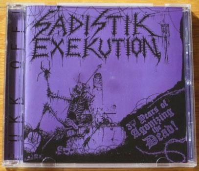 Sadistik Exekution - 30 years of Agonizing the Dead - CD