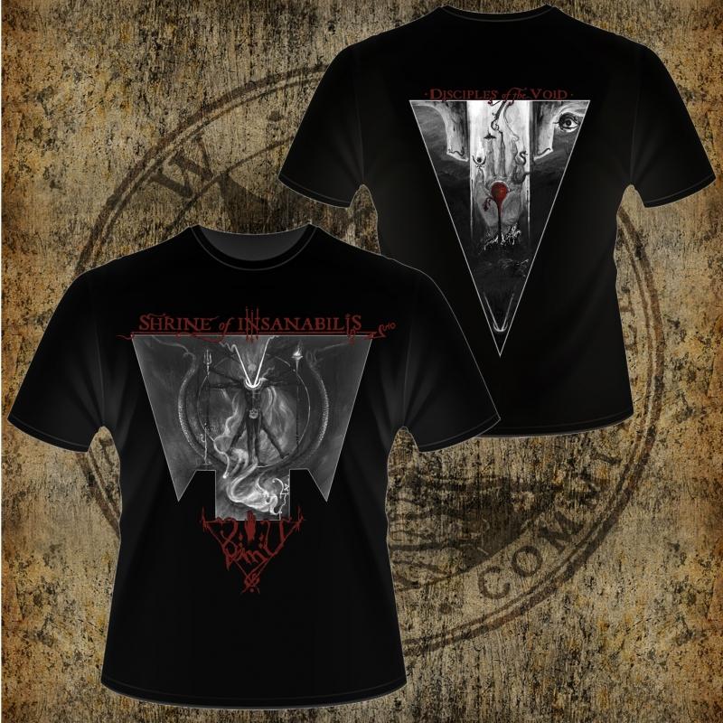 Shrine of Insanabilis - Disciples of the Void - T-Shirt