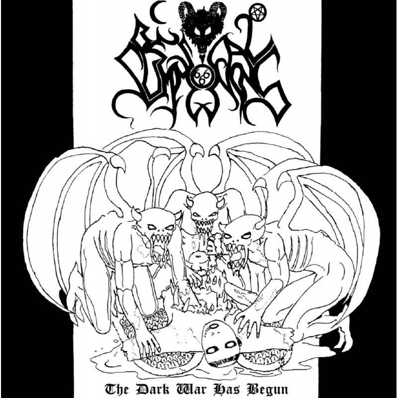 Bestial Summoning - The Dark War Has Begun - CD