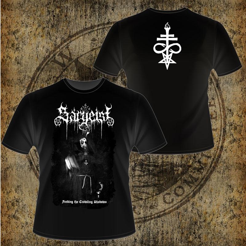 Sargeist - Feeding The Crawling Shadows - T-Shirt
