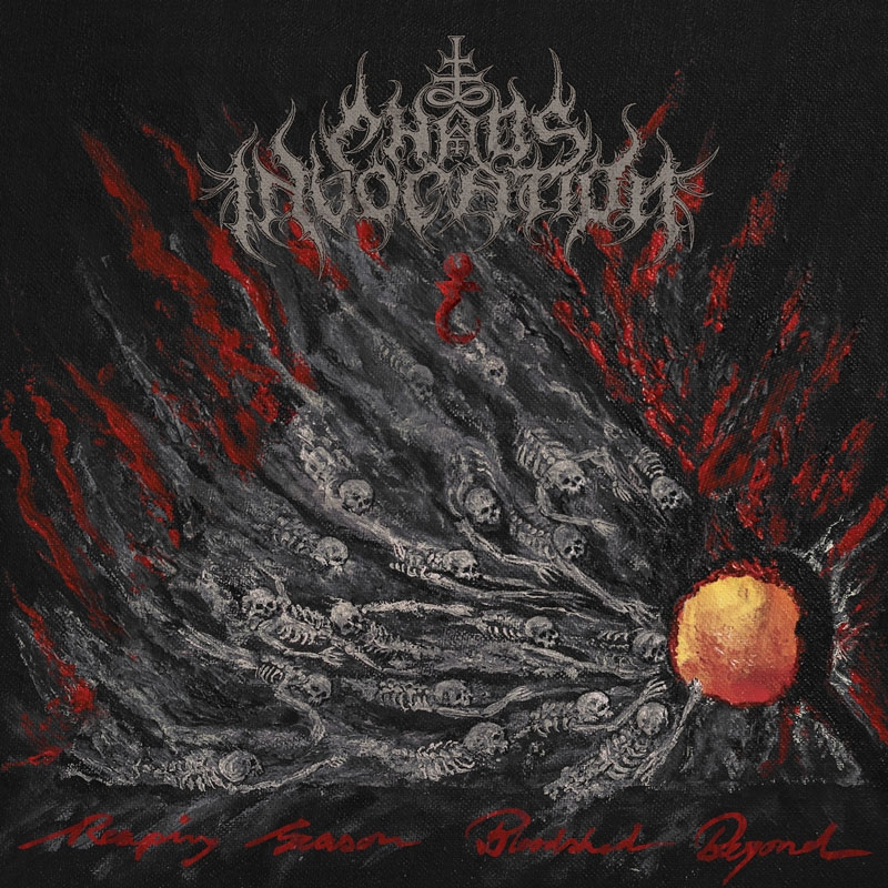 Chaos Invocation - Reaping Season, Bloodshed Beyond - LP