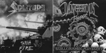 Dangerous Force / Solitude - Split EP