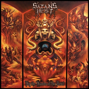 Satans Host - By the Hands of the Devil - CD