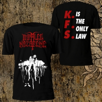 Impaled Nazarene - K.F.S. Is the only law - T-Shirt