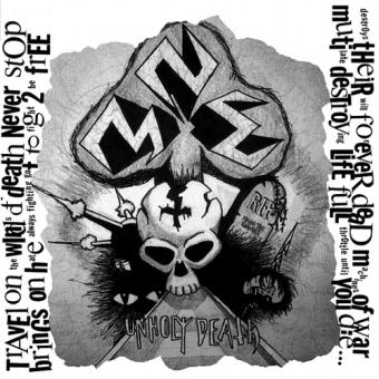 N.M.E. - Unholy Death / Machine of War - DCD