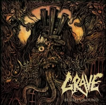 Grave - Burial Ground - CD