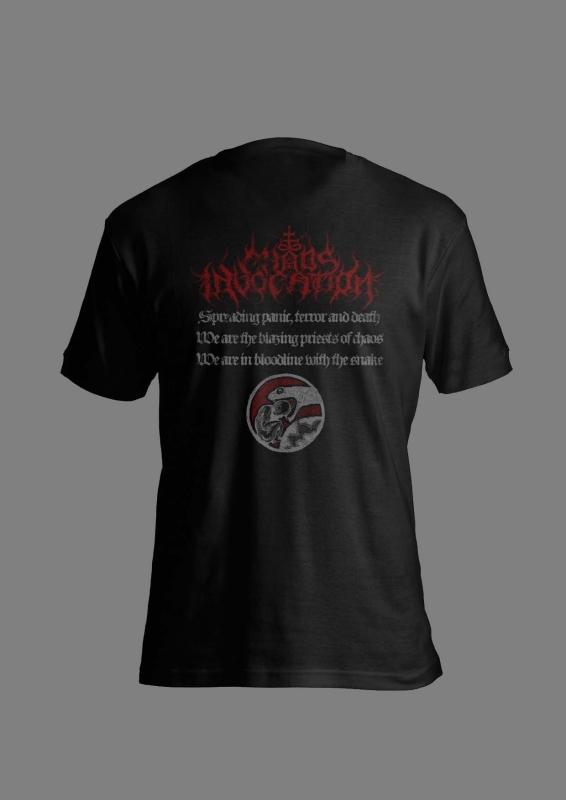 Chaos Invocation - In Bloodline With the Snake - T-Shirt