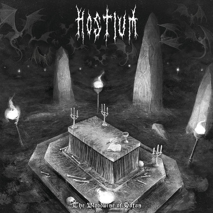 Hostium - The Bloodwine of Satan - CD