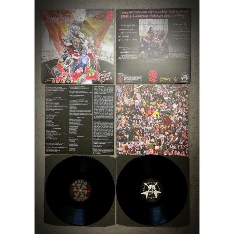 Baphomet's Blood - Satanic Metal Attack - LP