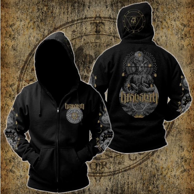 Barshasketh - Ophidian Henosis - Hooded Zipper
