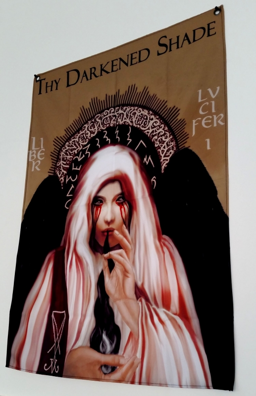 Thy Darkened Shade - Liber Lvcifer I: Khem Sedjet - Flagge