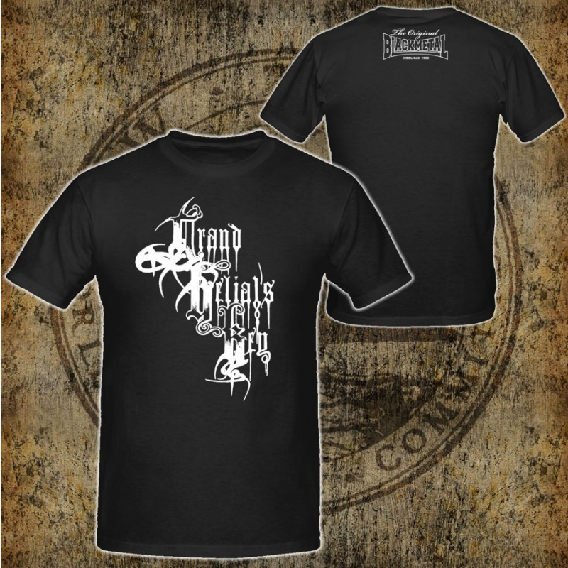 Grand Belial's Key - White Logo - T-Shirt