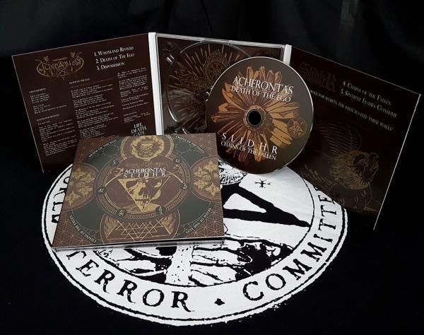 Acherontas/Slidhr-Death Of The Ego/Chains of the Fallen-DigiCD