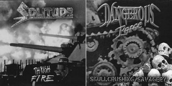 Dangerous Force / Solitude - Split EP