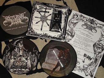 Nocturnal Blood - Invocation Of Spirits - Pic EP