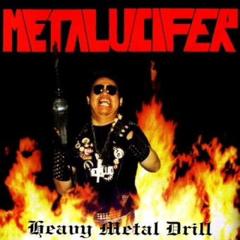 Metalucifer - Heavy Metal Drill - CD