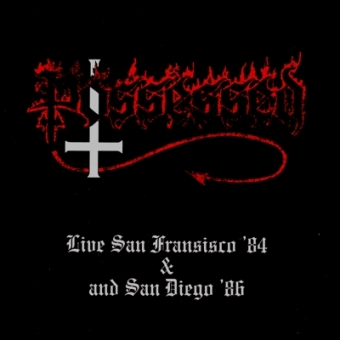 Possessed - Live San Francisco '84 & San Diego '86 - CD