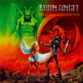 Iron Angel - Hellish Crossfire - LP