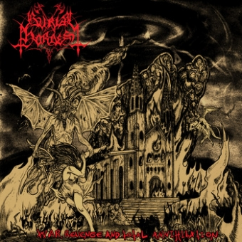 Burial Hordes - War, Revenge and Total Annihilation - LP