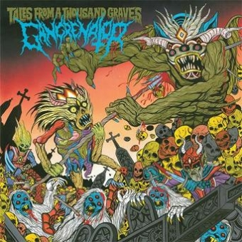 Gangrenator - Tales from a Thousand Graves - CD