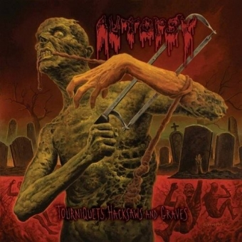 Autopsy - Tourniquets, Hacksaws and Graves - LP