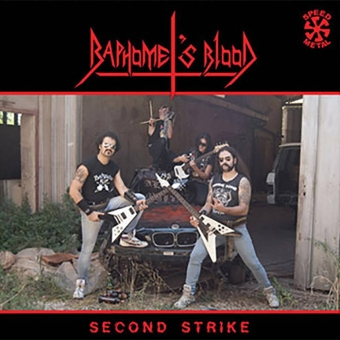 Baphomet's Blood - Second Strike - LP