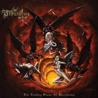 Profanatica - The Curling Flame of Blasphemy - CD