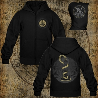True Black Dawn - Come the Colorless Dawn - Hooded Zipper