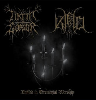 Cirith Gorgor / Kjeld - Unified in ceremonial worship - Split-EP