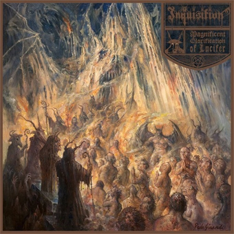 Inquisition - Magnificent Glorification of Lucifer - DigiCD
