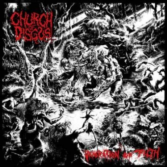 Church of Disgust - Veneration of Filth - CD