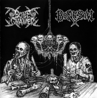 Bone Gnawer / Bonesaw - Split CD
