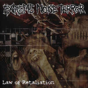 Extreme Noise Terror – Law Of Retaliation - LP