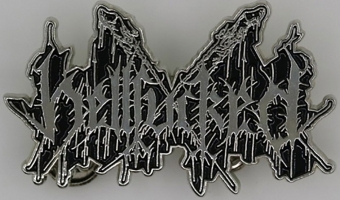 Hellfucked - Logo - Metal-PIN