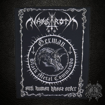 Nargaroth - Anti Human Khaos Order - Backpatch