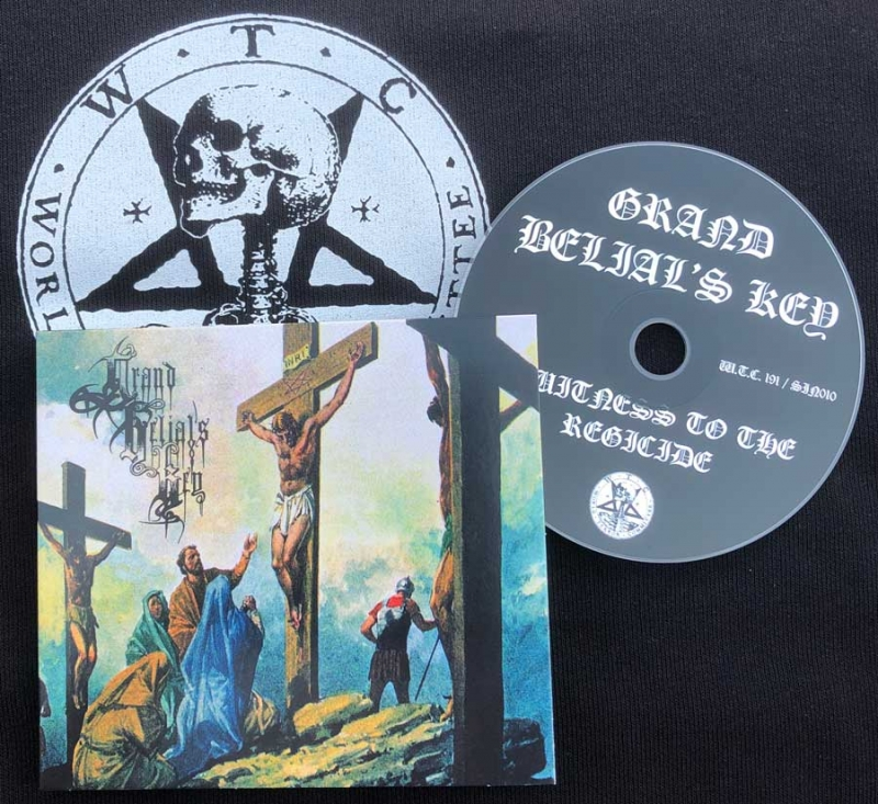 Grand Belials Key - A Witness to the Regicide - Digipak CD