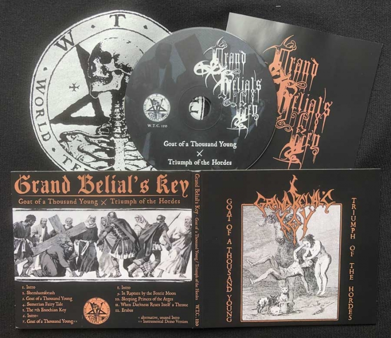 Grand Belials Key - GOATY / TOTH - Digipak CD