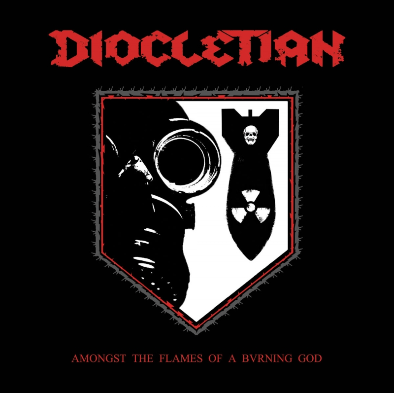 Diocletian - Amongst The Flames Of A Bvrning God - CD