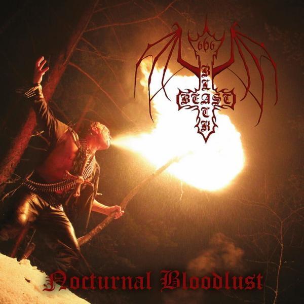 Black Beast - Nocturnal Bloodlust - CD