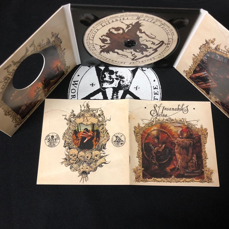 Shrine of Insanabilis - Vast Vortex Litanies - Digipak CD