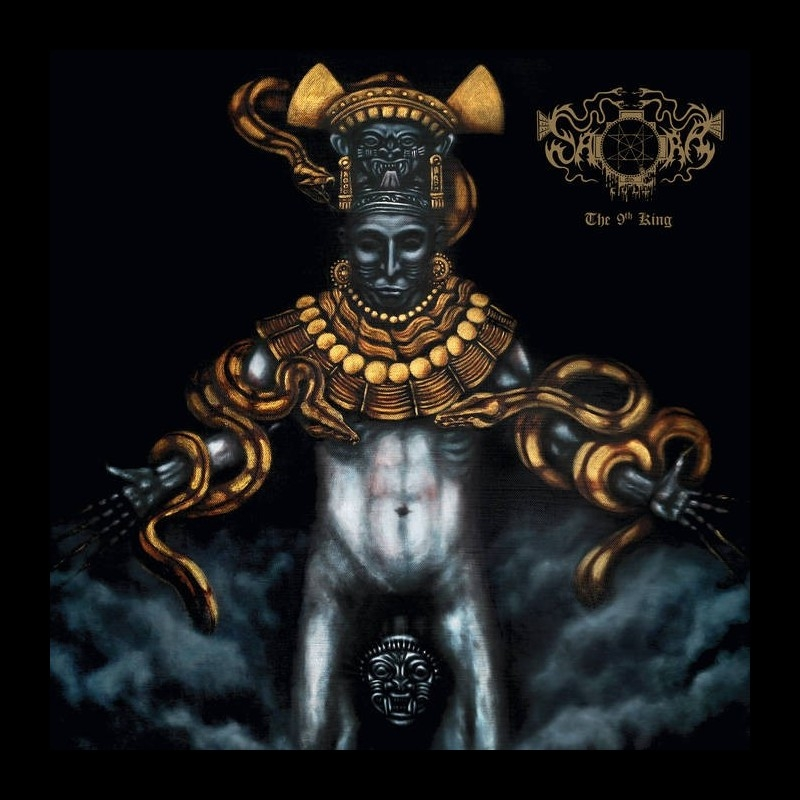 Saqras Cult - The 9th King - CD