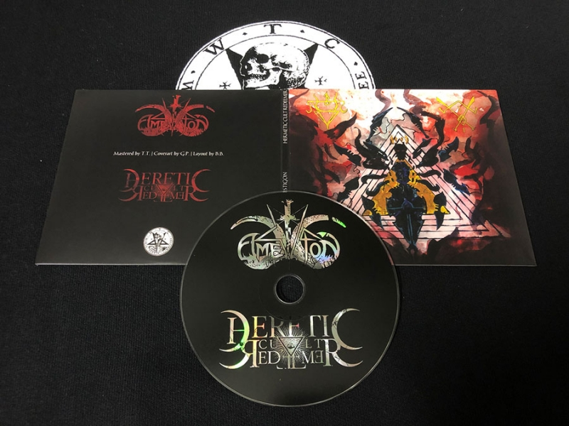 Amestigon / Heretic Cult Redeemer - Digisleeve CD