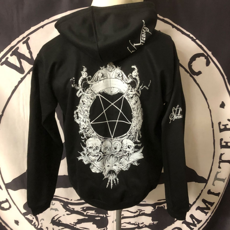 Shrine of Insanabilis - Vast Vortex Litanies - Hooded Zipper (W)